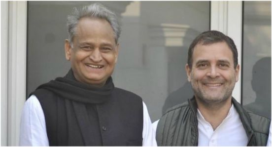 After a series of frantic discussions, Congress finally chooses Ashok Gehlot as Chief Minister of Rajasthan