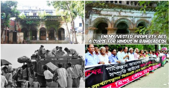 Hindus in Bangladesh facing grave deprivation; Thanks to Enemy/Vested Property Act