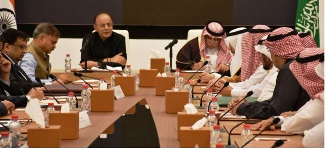 FM Arun Jaitley vows to enhance bilateral ties with Saudi Arabia to newer horizons