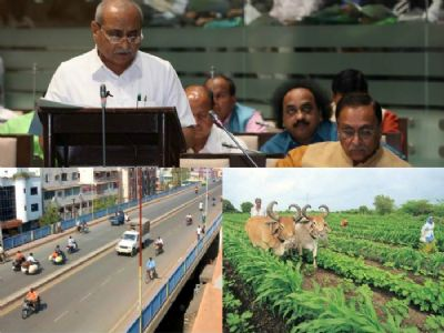 Nitin Patel presents Gujarat Budget 2018 in Assembly; focuses on villages, farmers and health sector