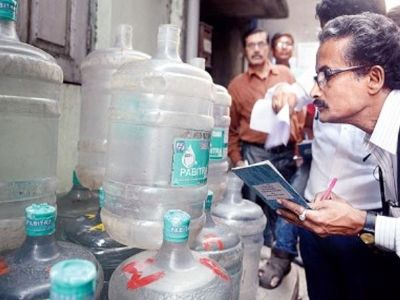 Kolkata Police to take strict action against unlicensed manufacturers of packaged water