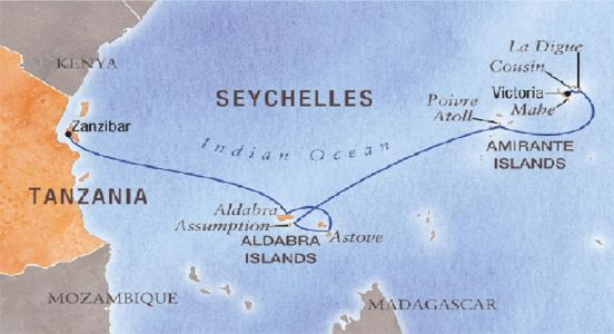 Seychelles: India's first ever overseas base