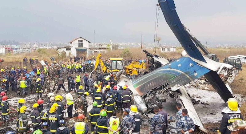 News Bharati - Nepal ATC claims plane crash a complete suicidal