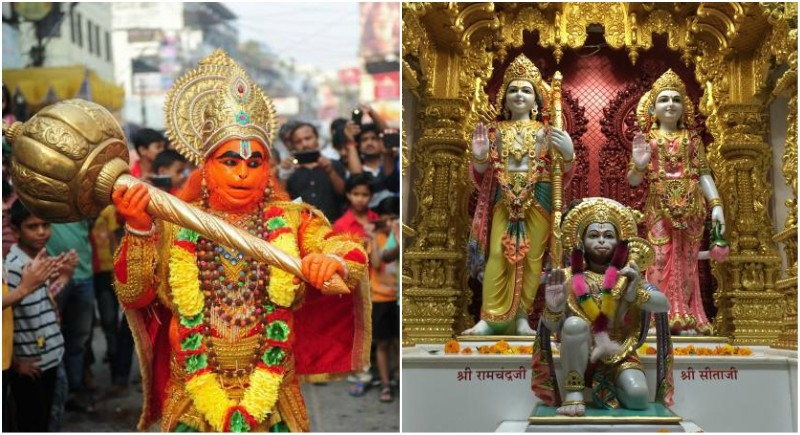 Shri Hanuman Symbol Of True Devotion True Friendship And Backbone