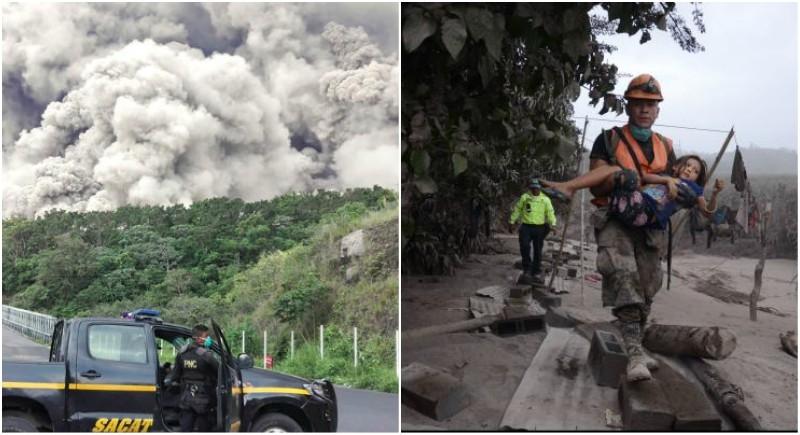 Guatemala's Fuego volcano eruption: 70 killed, 300 injured and over