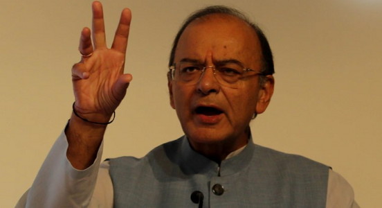 Recapitulating the economic data, Jaitley says India needs a decisive PM alike we have one now..!