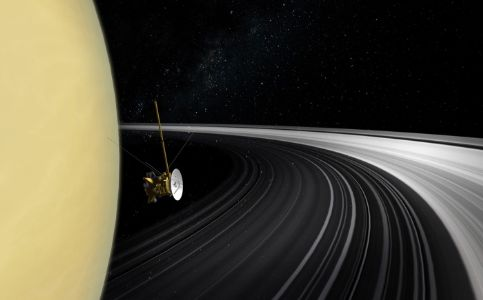 Saturn's trademark rings could be younger than dinosaurs