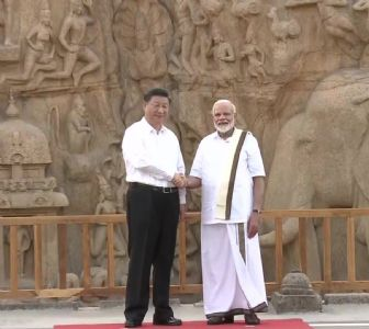 'Welcome to India, President Xi Jinping!': Modi and Xi Jinping on a historical path at Mahabalipuram
