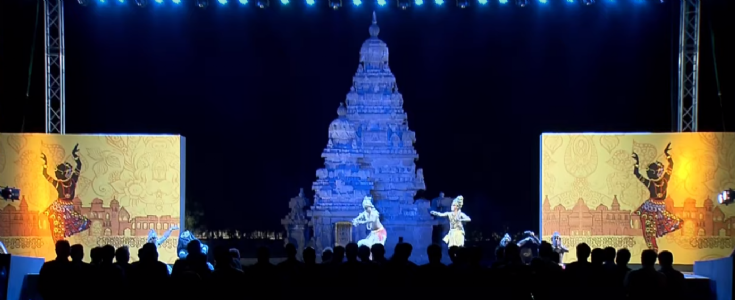 Connecting China with the rich heritage of India; Modi, Xi Jinping enjoy Carnatic music with Kathakali dance at Shore Temple
