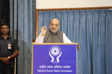 Terming terrorism, Maoism as threat, Amit Shah stressed on redefining human rights with Indian context