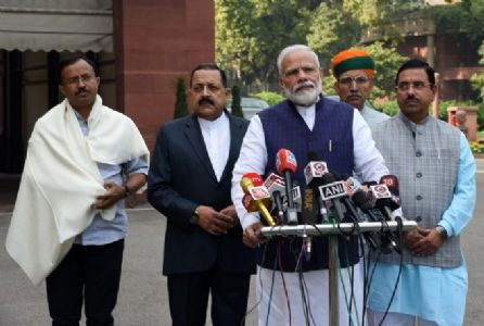 Parliament's Winter Session begins today; PM Modi emphasises on quality debates, healthy discussions on issues of India's development