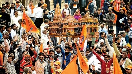 'Mandir Vahi Banyenge'! SC adds joy to Hindus to end 500 years injustice; Waqf board to get 5 acre land respectfully