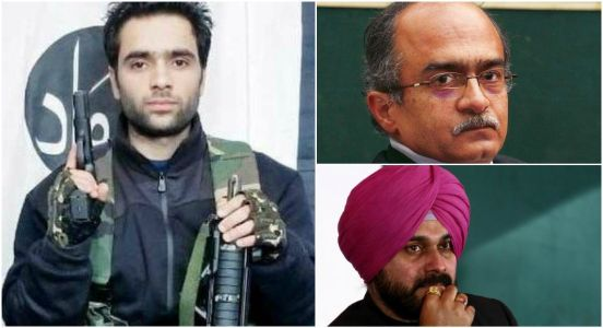 Prashant Bhushan, Navjot Sidhu! You people are nothing but butchers of Indian-ness