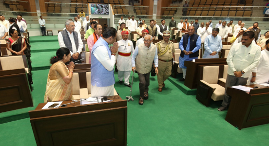 Gujarat budget sets in motion with Governor  O P Kohli's address