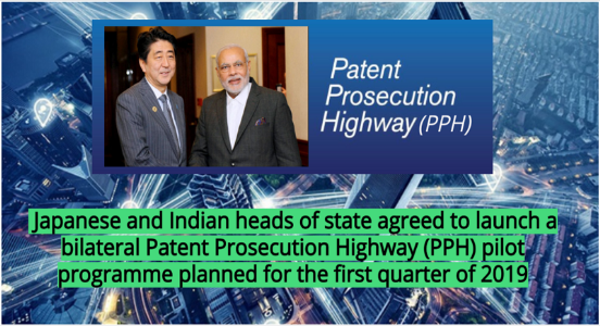 India-Japan proceed to launch Patent Prosecution Highway pilot programme by Q1 2019