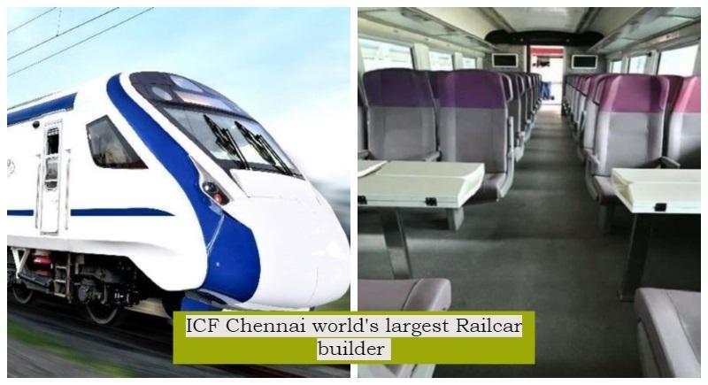 News Bharati - Chennai ICF creates history! Indian Railways ICF