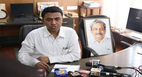 Alloting portfolios to cabinet colleagues, Goa CM Sawant heads the state schedules..!
