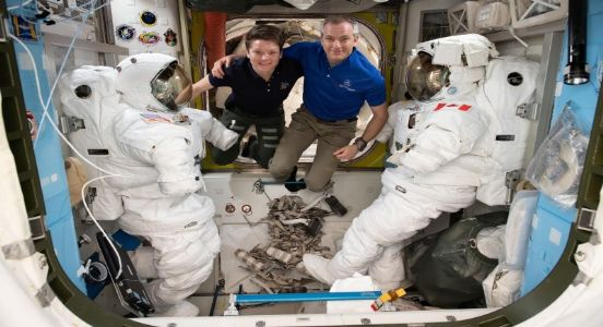 NASA's astronaut duo performs the first spacewalk of 2019