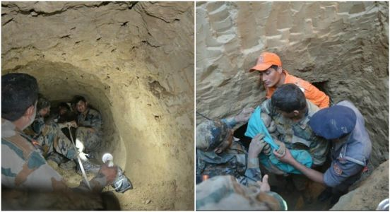 Once a hero, always a hero: Giving new life, Indian Army rescues infant from 60 feet deep borewell