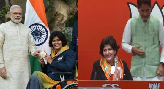 Contributing to development of every aspect in society, Paralympic winner Deepa Malik choses to join the suitable party to pitch in politics