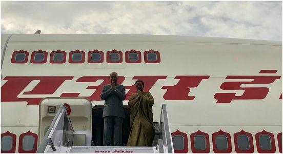 Strengthening bilateral relations, Prez Kovind leaves on three-nation visit