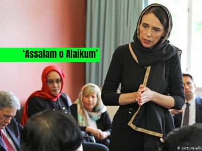 Outcome of appeasement gestures by NewZealand PM after mosque shooting; Asked to 'embrace Islam'