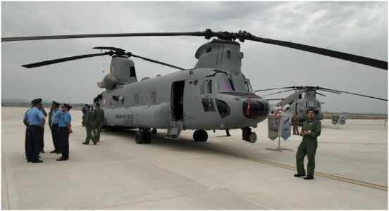 Finally the sun rises with pride, 'Chinook' inducted in IAF boosting national security
