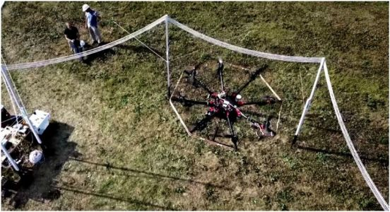 Not everything that goes up has to come down! Wireless charging tech lets drones stay aloft indefinitely