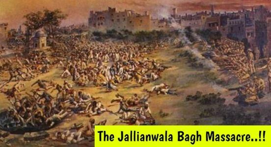 The Jallianwala Bagh Massacre, 13 April 1919