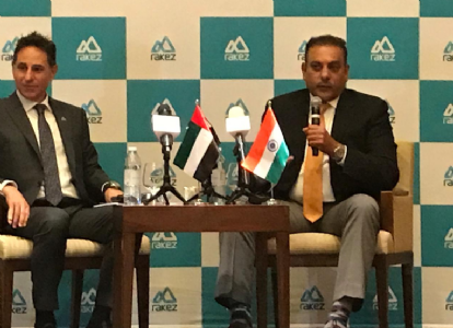 Dubai based 'RAKEZ' appointed Cricket Champion Ravi Shastri as a Corporate Ambassador