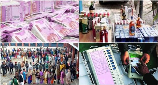 Electoral Cash Seizure - Setting a record that no Indian will be proud of..!