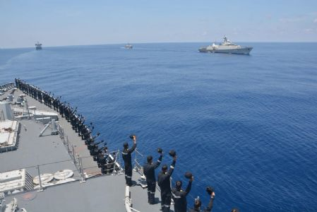Indian Navy-Vietnam Peoples' Navy Bilateral Exercise second edition concludes