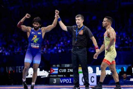 Bajrang Punia regains his throne, becomes World No 1 in 65kg freestyle category