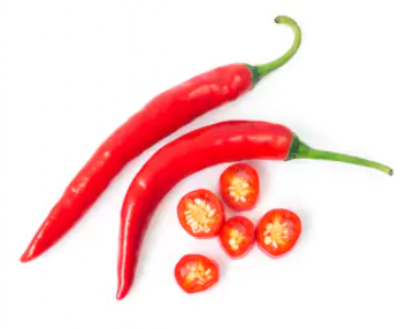 Red chilies to make patients smile know why..!
