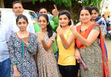 And it's a wrap! 61.2 percent voters decide the future of India in Phase II of LS polls