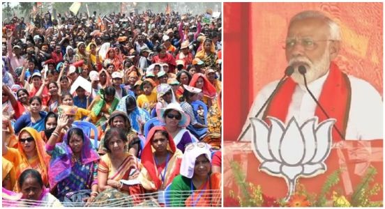 PM Modi promises development in West Bengal by scrapping Mamata Didi's dictator rule