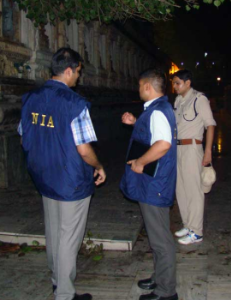 NIA's conducted searches in Hyderabad in Islamic state module case