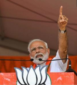 PM Modi recalls mantra of 'Politics of Patriotism' used in his government