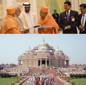 Extending greetings from India, PM Modi asserts the Hindu temple in UAE will reflect values of faith, harmony and love