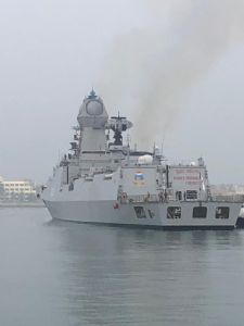 India's INS Kolkata chip in to China's Quingdao port; Pakistan decides to miss PLA Navy International fleet review