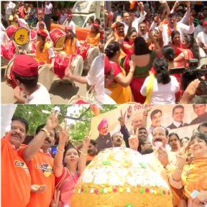 Beating the drums loud, BJP-Sena combine over-shines Maharashtra