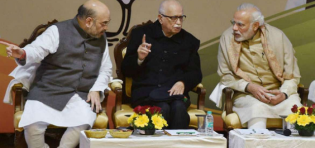 L K Advani praises 'Amitbhai', 'Narendrabhai': showers blessings and assures confidence for a bright future of a nation