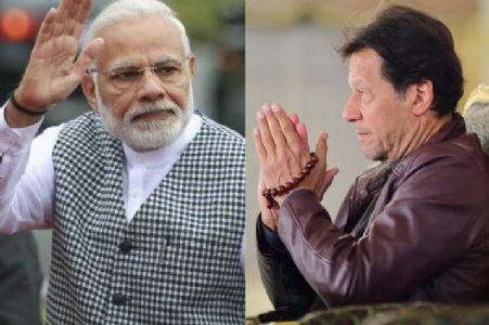 Desiring to work with peace, Pak PM Imran Khan congratulates PM Modi for splendid victory in LS polls