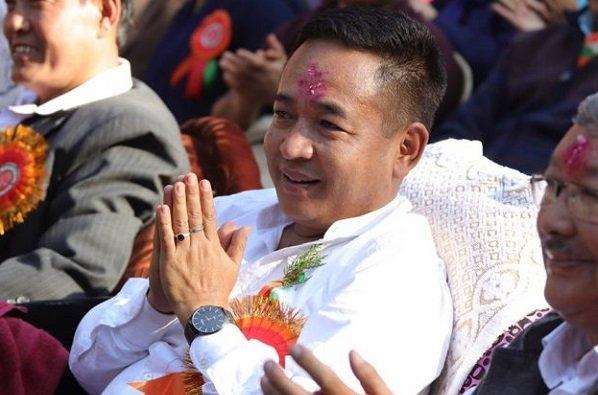 Image result for Prem Singh Tamang cm oath