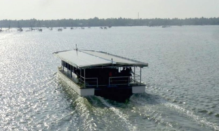 "Paris Agreement"" in action! India's first solar cruise"