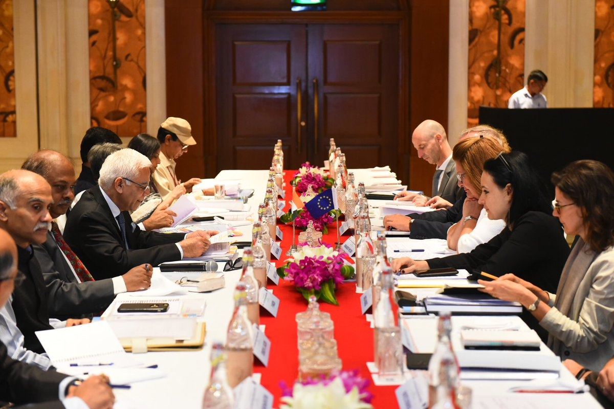 Discussing on migration, mobility, India and EU hold high-level