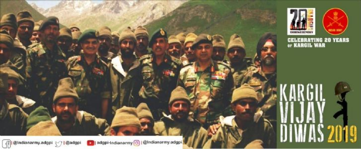 Twentieth Anniversary of Kargil War: Time for celebration and introspection