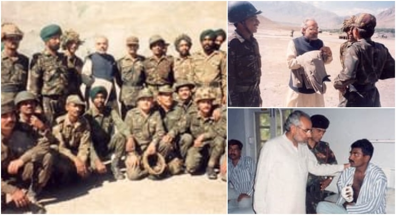 Evoking the unforgettable time spent with the Kargil heroes