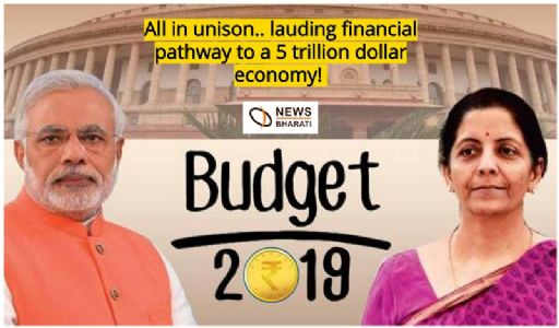 All in unison.. extolling financial pathway to a 5 trillion dollar economy!