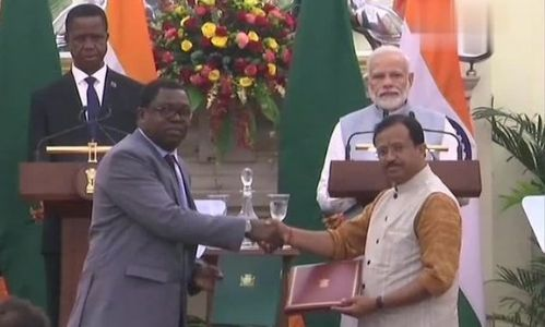 Bringing new dimensions to friendship! PM Modi holds bilateral talks with president of Zambia